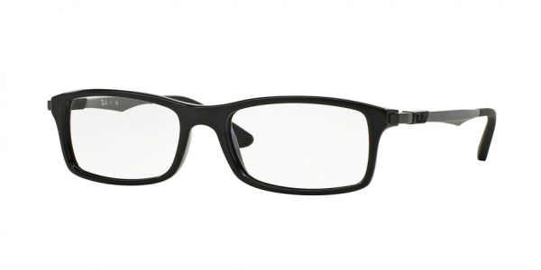 RAY-BAN RX7017 style-color 2000 Shiny Black