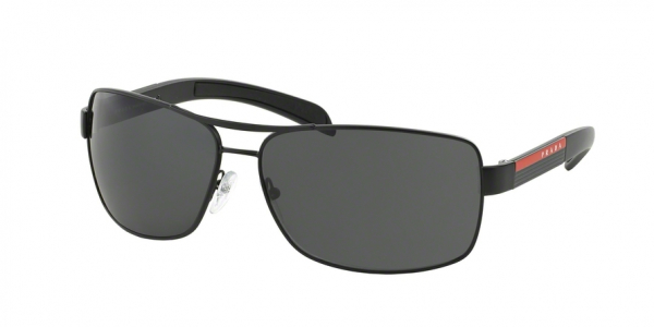 PRADA LINEA ROSSA PS 54IS style-color 1BO1A1 Matte Black+black Rubb.
