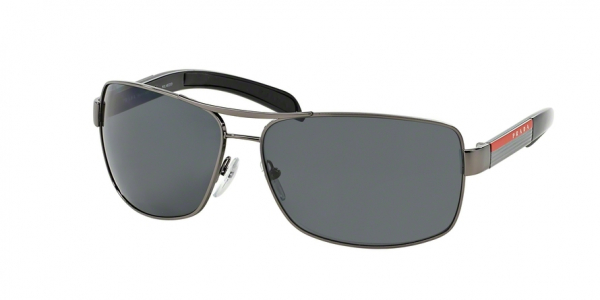 PRADA LINEA ROSSA PS 54IS style-color 5AV5Z1 Gunmetal