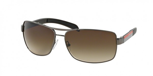 PRADA LINEA ROSSA PS 54IS style-color 5AV6S1 Gunmetal