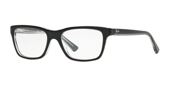 RAY-BAN RY1536 style-color 3529 Top Black ON Transparent
