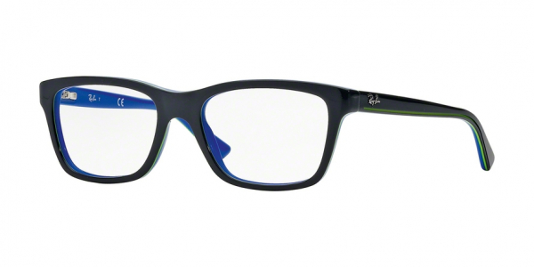 RAY-BAN RY1536 style-color 3600 Top Dark Grey ON Blue