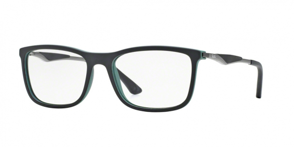 RAY-BAN RX7029 style-color 5197 Black Top ON Green