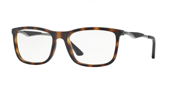 RAY-BAN RX7029 style-color 5200 Matte Havana