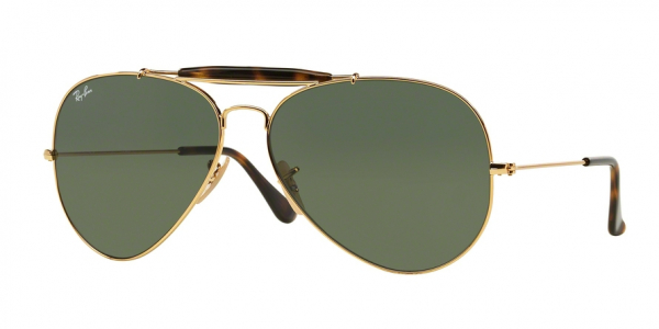 RAY-BAN RB3029 OUTDOORSMAN II style-color 181 Gold