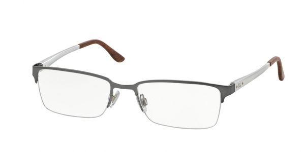 RALPH LAUREN RL5089 style-color 9282 Semi Shiny Gunmetal