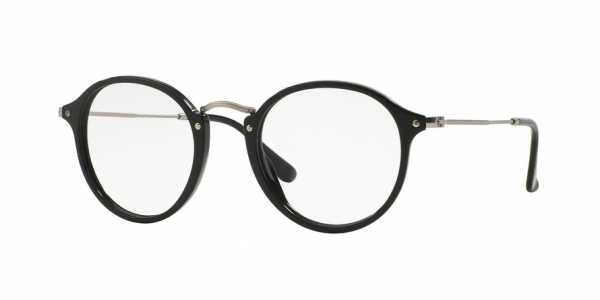 RAY-BAN RX2447V ROUND style-color 2000 Shiny Black