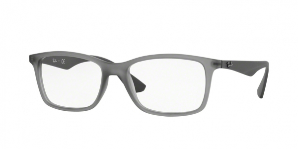 RAY-BAN RX7047 style-color 5482 Matte Trasp Grey