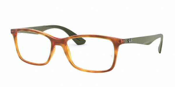 RAY-BAN RX7047 style-color 5990 Yellow Light Havana