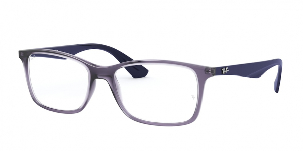 RAY-BAN RX7047 style-color 5995 Transparent Violet