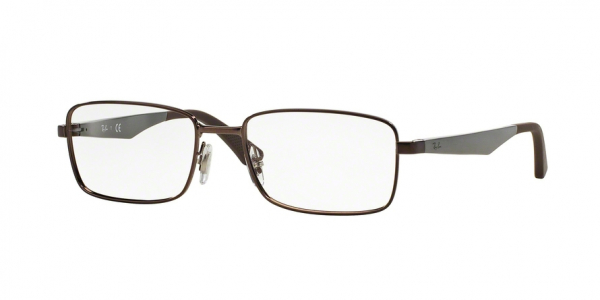 RAY-BAN RX6333 style-color 2511 Shiny Dark Brown