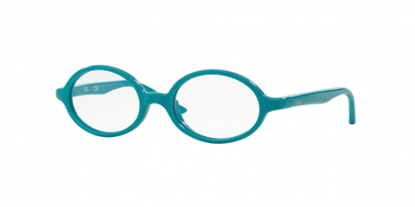 RAY-BAN RY1545 style-color 3637 Azure ON Rubber Azure