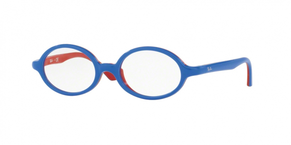 RAY-BAN RY1545 style-color 3703 Blu ON Rubber Red