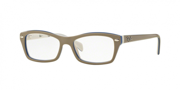 RAY-BAN RY1550 style-color 3658 Top Grey ON Azure White