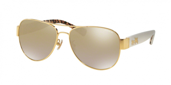 COACH HC7059 L138 style-color 92496E Gold / Ivory Wild Beast