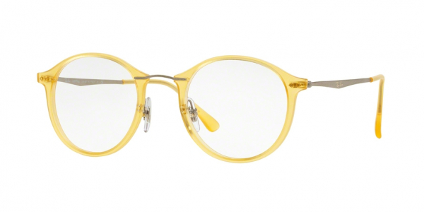 RAY-BAN RX7073 style-color 5589 Matte Yellow