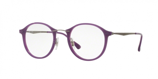 RAY-BAN RX7073 style-color 5617 Shiny Violet
