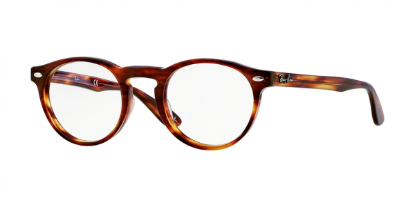 RAY-BAN RX5283 style-color 2144 Striped Havana