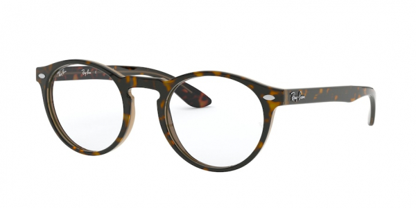 RAY-BAN RX5283 style-color 5989 Havana ON Top Trasp Brown