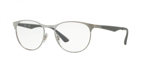 RAY-BAN RX6365 style-color 2553 Gunmetal Top ON Brushed Gunmet