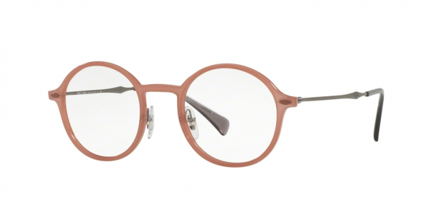 RAY-BAN RX7087 style-color 5637 Light Brown