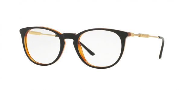 VERSACE VE3227 style-color 138 Black / Transparent Orange
