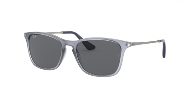 RAY-BAN RJ9061SF ASIAN FIT style-color 705887 Rubber Trasparent Grey / dark grey Lens
