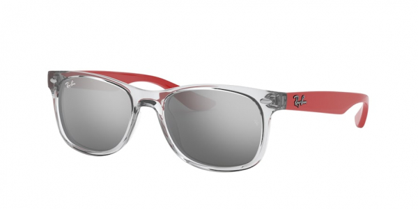 RAY-BAN RJ9052SF RJ9052S ASIAN FIT style-color 70636G Transparent Grey