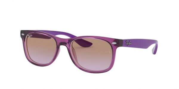 RAY-BAN RJ9052SF RJ9052S ASIAN FIT style-color 706468 Transparent Fuxia