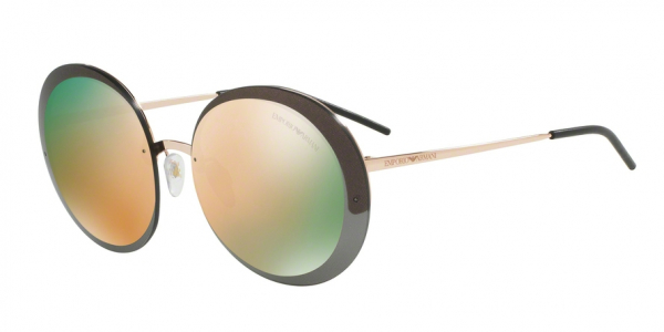 EMPORIO ARMANI EA2044 style-color 31674Z Pink Gold / grigio specchio oro rosa Lens