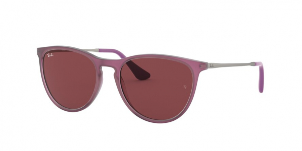 RAY-BAN RJ9060SF style-color 705675 Rubber Trasparent Fuxia