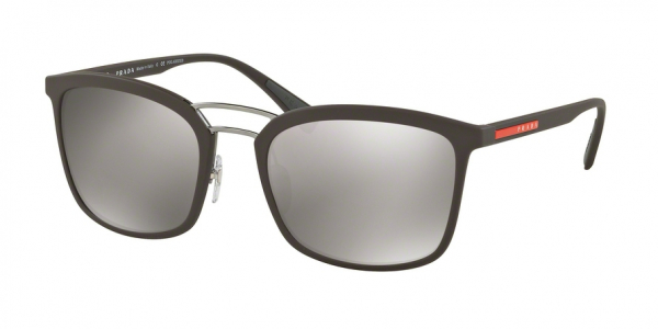 PRADA LINEA ROSSA PS 03SS style-color UB05K0 Brown Rubber