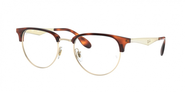 RAY-BAN RX6396 style-color 3085 White Gold