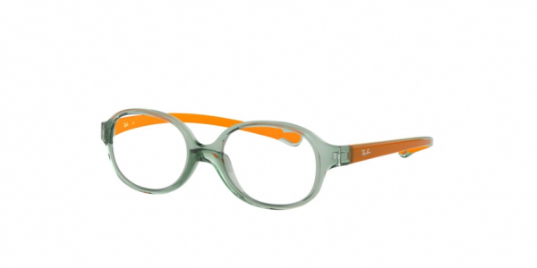 RAY-BAN RY1587 style-color 3766 Trasparent Light Green