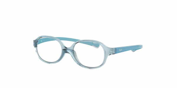 RAY-BAN RY1587 style-color 3769 Trasparent Light Blue