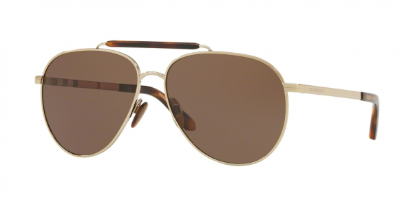 BURBERRY BE3097 style-color 11455W Light Gold
