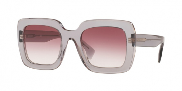 BURBERRY BE4284F ASIAN FIT style-color 30288H Transparent Grey / clear gradient light violet Lens