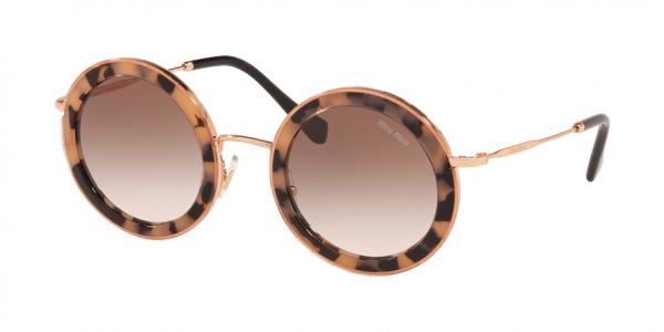 MIU MIU MU 59US CORE COLLECTION style-color 07D0A6 Pink Havana / brown gradient Lens