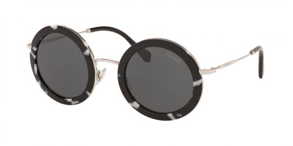 MIU MIU MU 59US CORE COLLECTION style-color PC75S0 Havana Black / White / dark grey Lens
