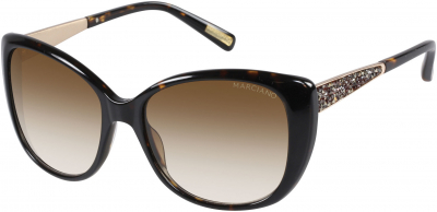 GUESS BY MARCIANO GM 722 style-color (TO-34) - Tortoise / Gradient Brown Lens