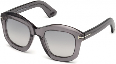 TOM FORD FT0582 JULIA-02 12674 style-color 20C Grey / Other / Smoke Mirror