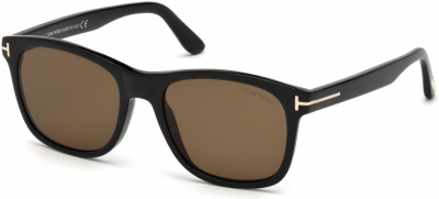 TOM FORD FT0595-F ASIAN FIT 5961 style-color 01J Shiny Black / Roviex