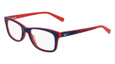 NIKE 5509 style-color (413) Obsidian / University Red