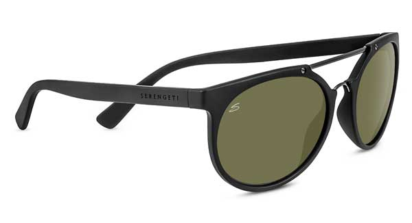 SERENGETI LERICI style-color 8348 SATIN BLACK/SATIN BLACK / MINERAL POLARIZED 555NM