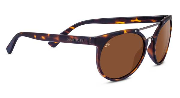 SERENGETI LERICI style-color 8356 SATIN DARK TORTOISE/SATIN DARK GUNMETAL / MINERAL POLARIZED DRIVERS