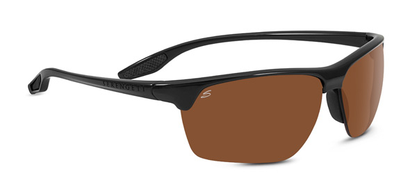 SERENGETI LINOSA style-color 8505 SHINY BLACK / PHD 2.0 POLARIZED DRIVERS