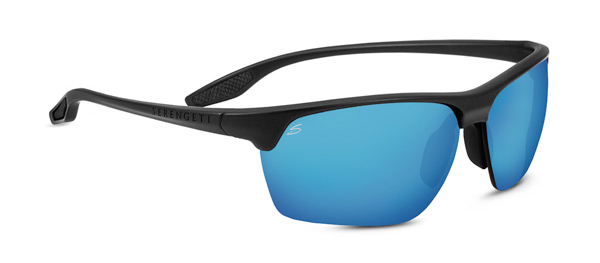 SERENGETI LINOSA style-color 8507 SANDED DARK GRAY / PHD 2.0 POLARIZED 555NM BLUE