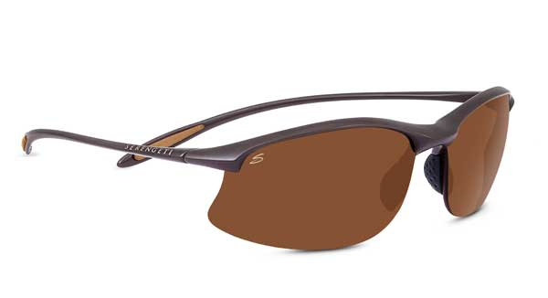 SERENGETI MAESTRALE style-color 8450 SANDED DARK BROWN / PHD 2.0 POLARIZED DRIVERS