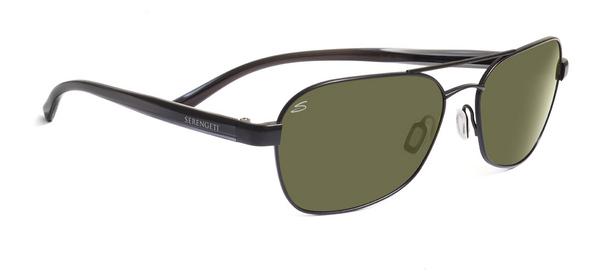 SERENGETI VOLTERRA style-color 7593 Satin Black / Gray Stripe