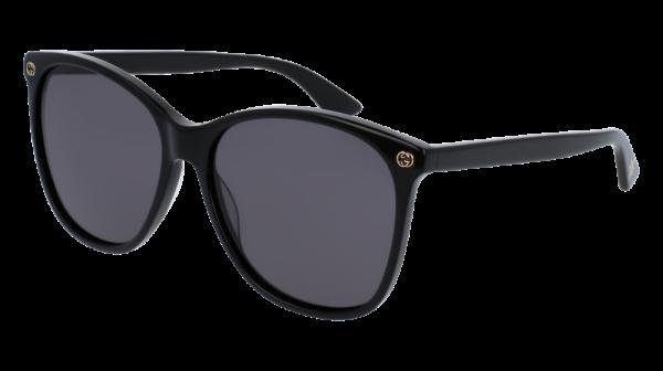 GUCCI GG0024S style-color Black 001 / Grey None Lens